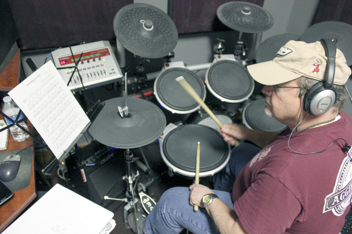 the woodlands drum lesson student joe 2